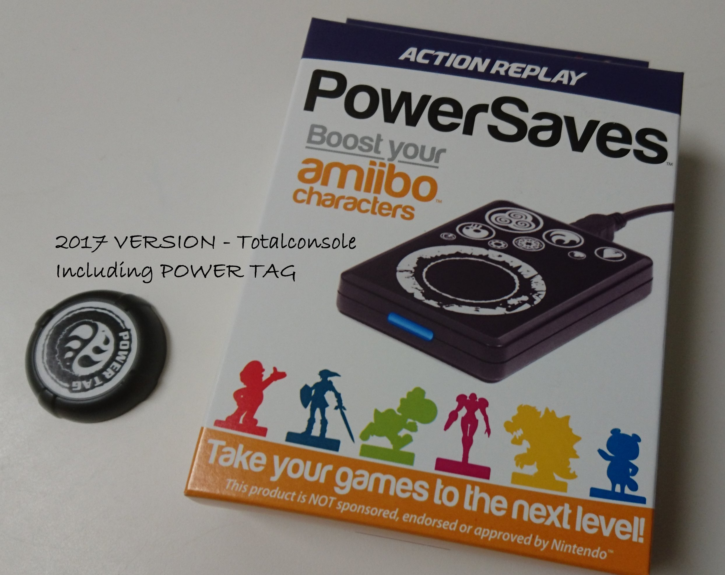Action Replay PowerSaves for Amiibo™ with POWER TAG