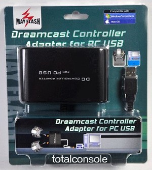 Dreamcast Controller To Pc Usb Converter Adapter